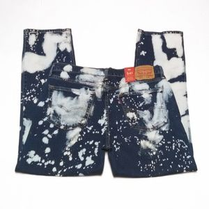 Levis 541 Acid Wash Jeans Blue Choose Your Size